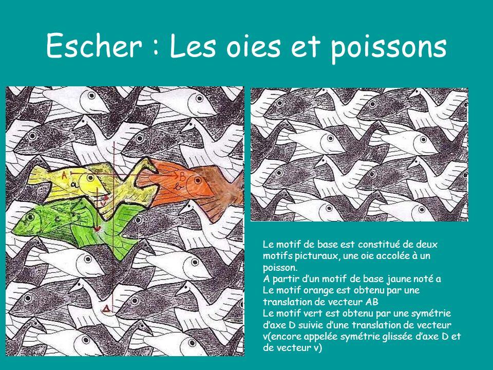 Escher : Les oies et poissons
