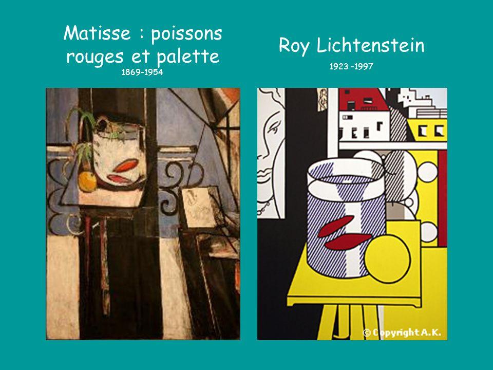 Matisse : poissons rouges et palette 1869-1954