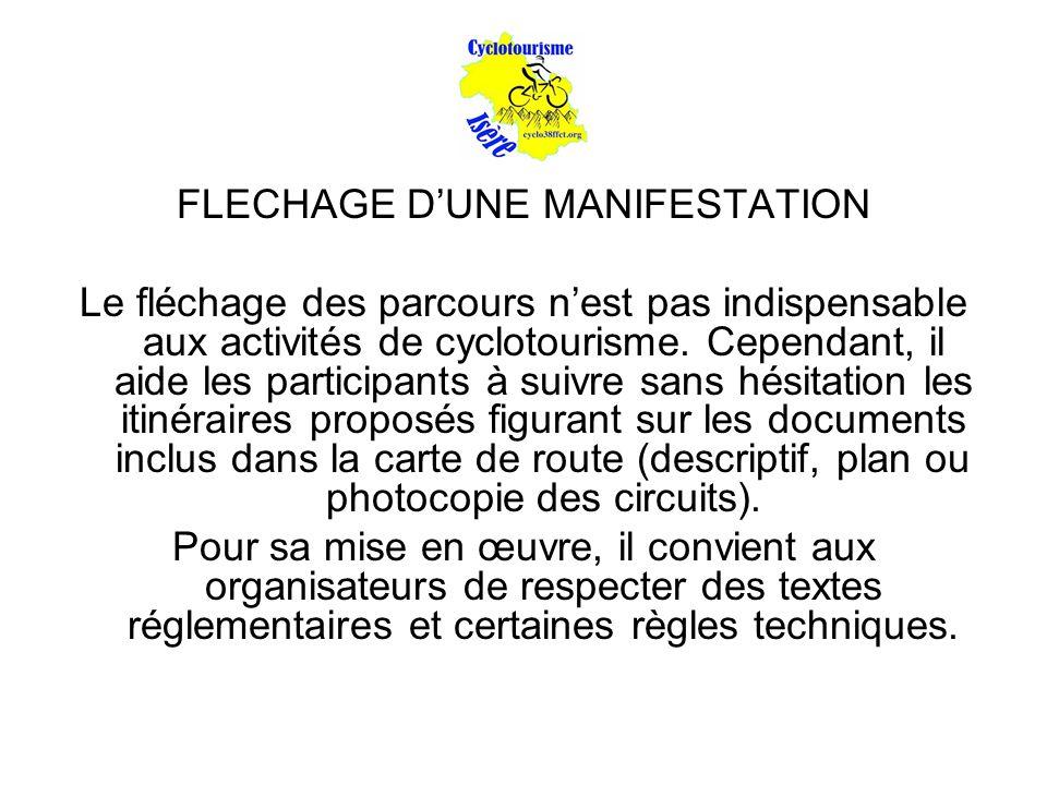 FLECHAGE D'UNE MANIFESTATION