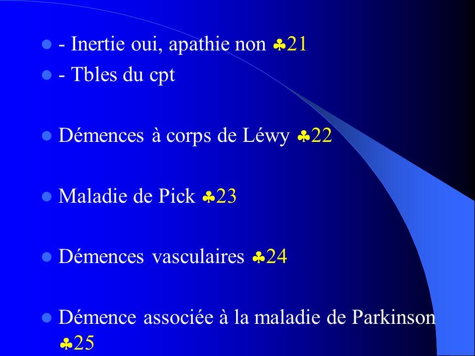 - Inertie oui, apathie non 21