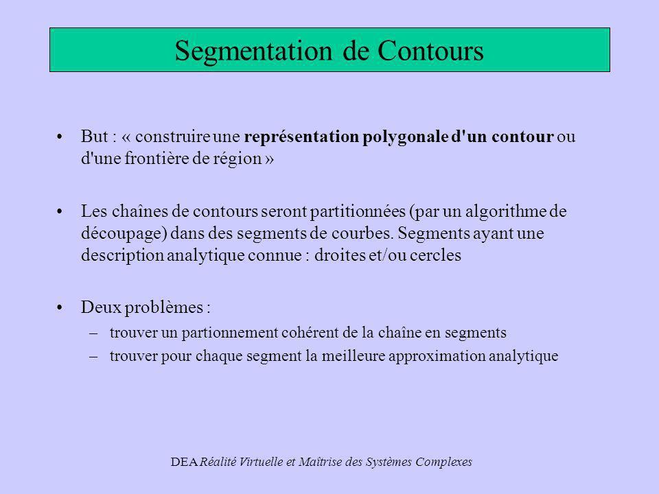 Segmentation de Contours