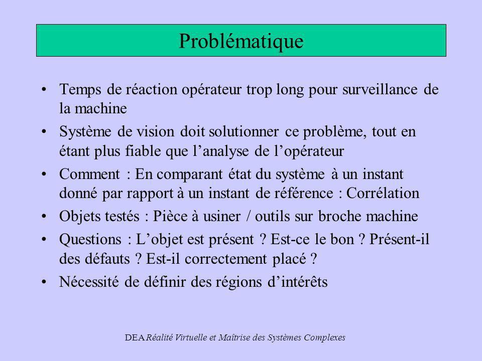 DEA Réalité Virtuelle et Maîtrise des Systèmes Complexes