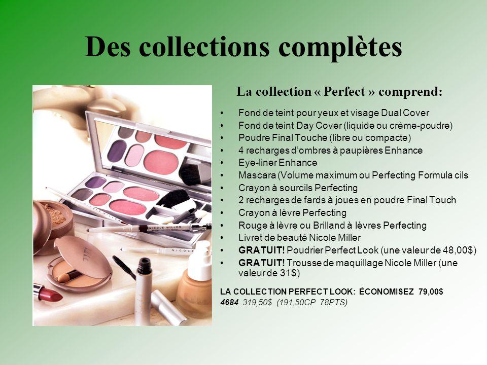 Des collections complètes