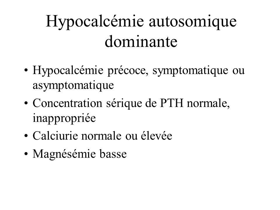 Hypocalcémie autosomique dominante