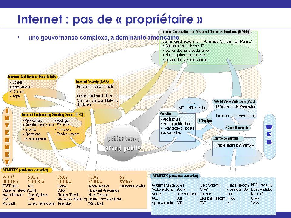 Internet : pas de « propriétaire »
