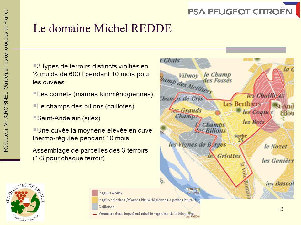 Le domaine Michel REDDE
