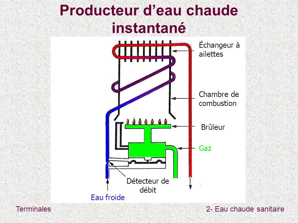 Producteur d'eau chaude instantané
