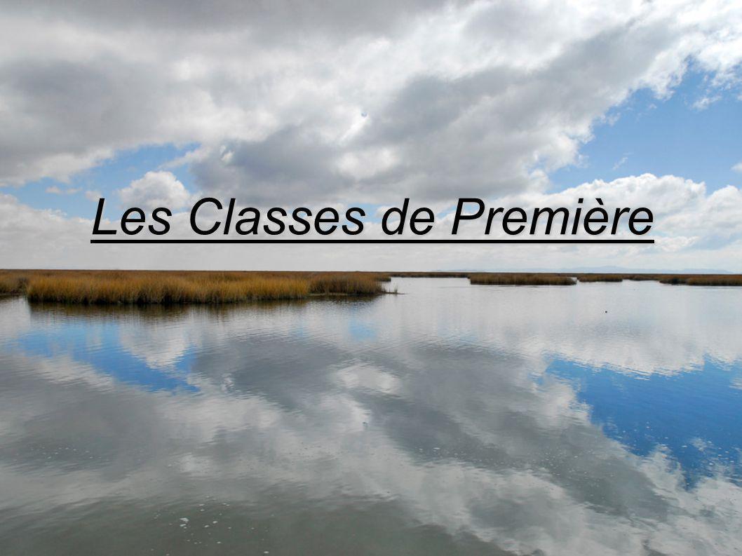 Les Classes de Première