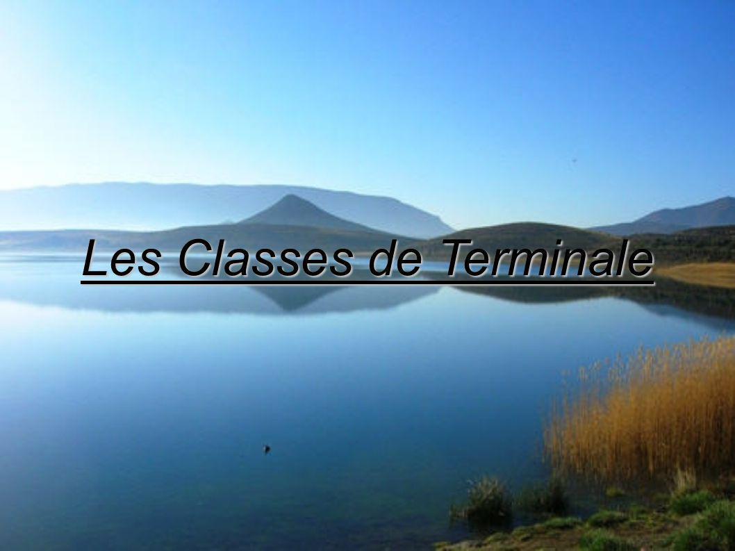 Les Classes de Terminale