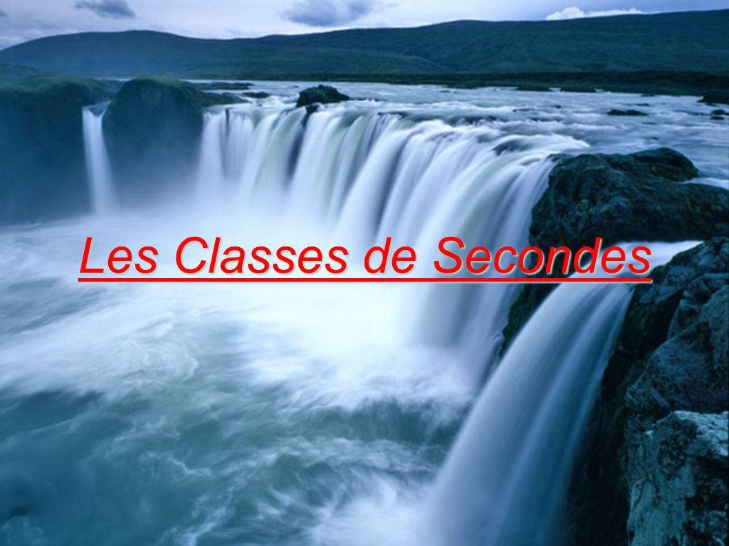 Les Classes de Secondes