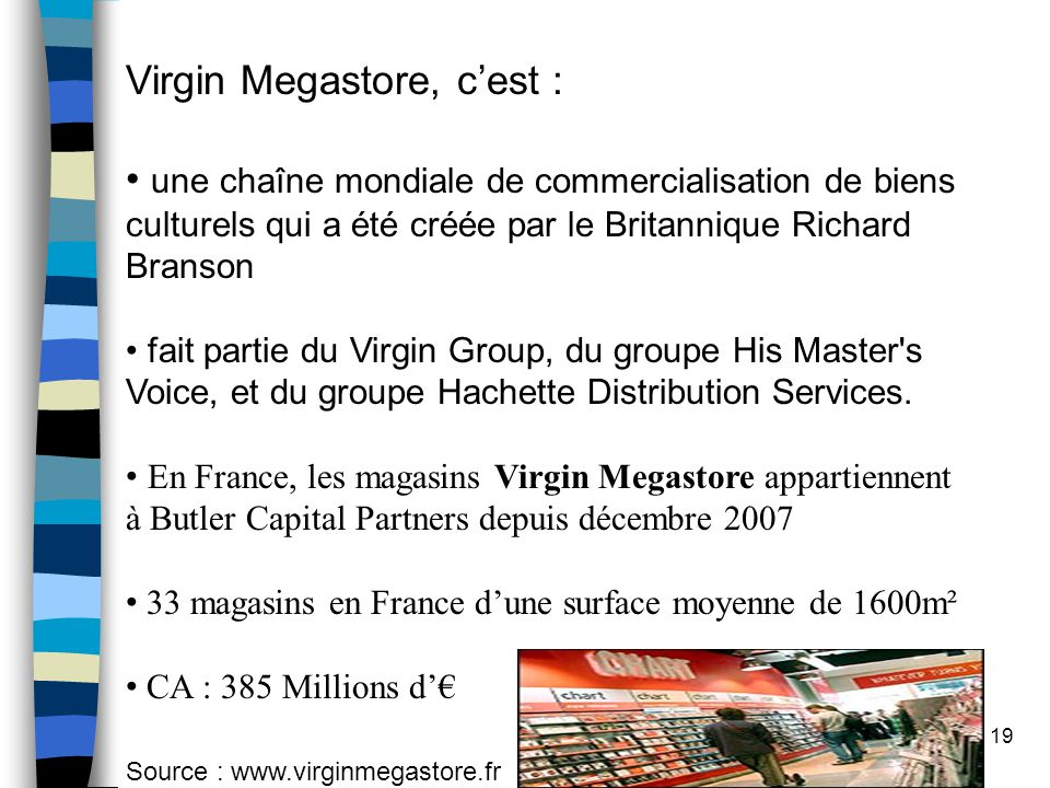 Virgin Megastore, c'est :