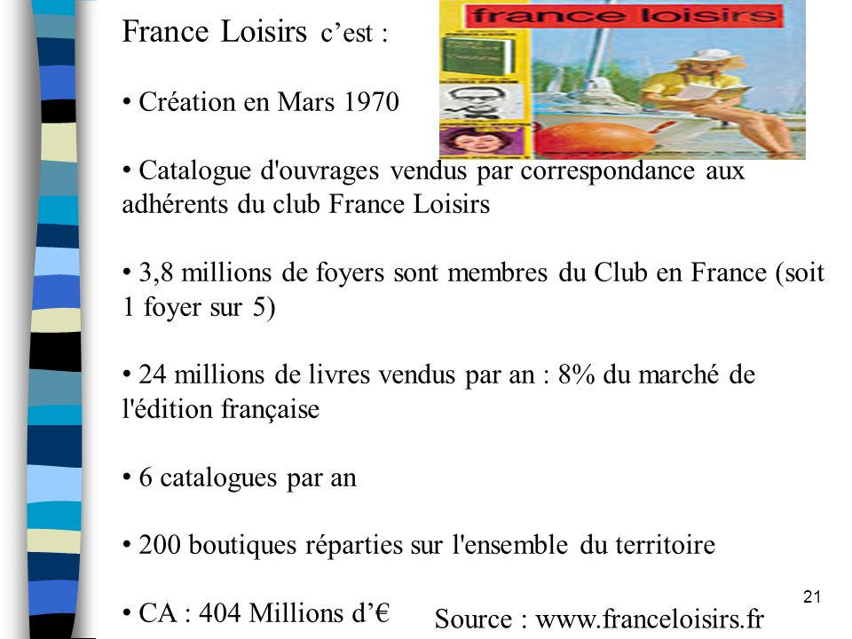 Source : www.franceloisirs.fr