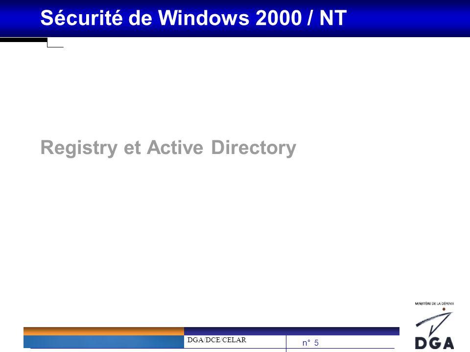 Registry et Active Directory
