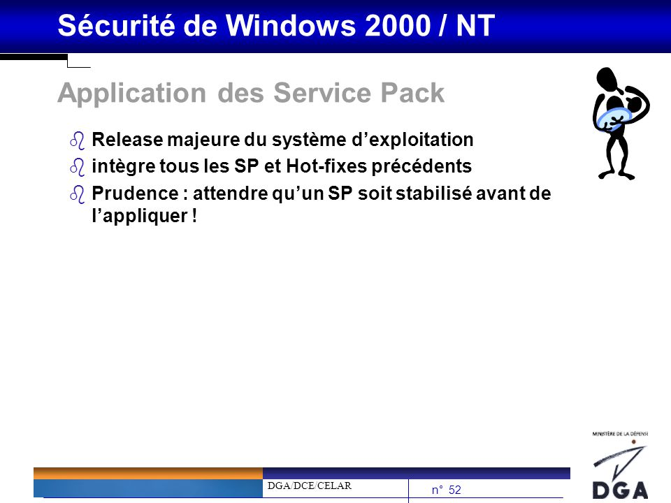 Application des Service Pack