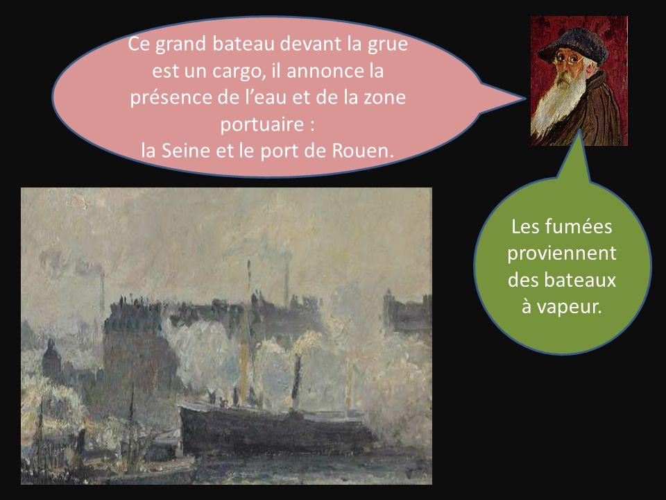 la Seine et le port de Rouen.
