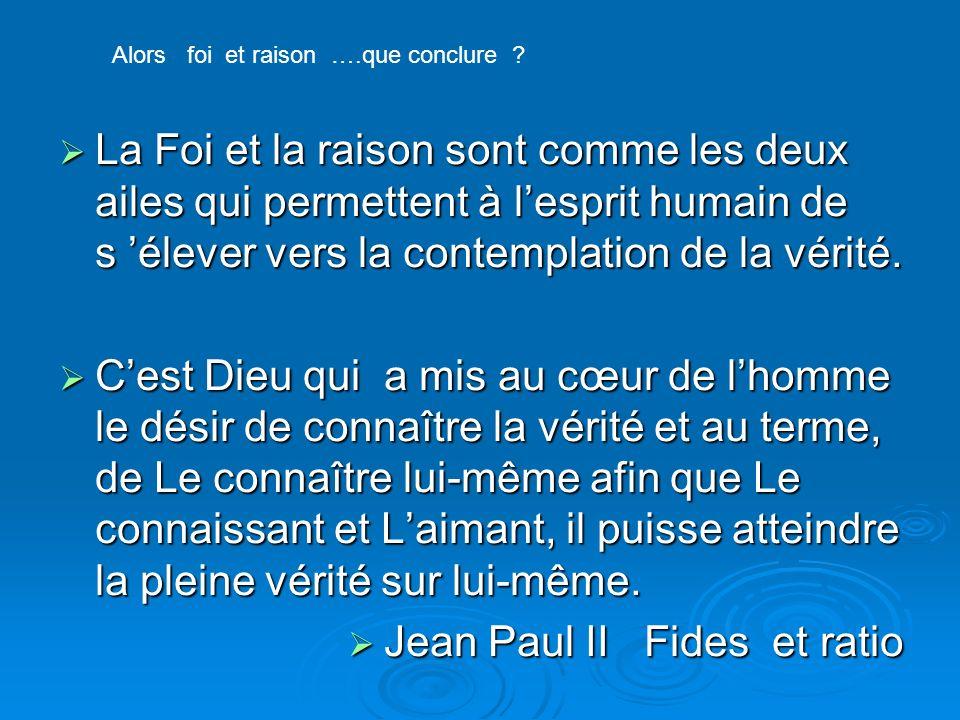 Jean Paul II Fides et ratio