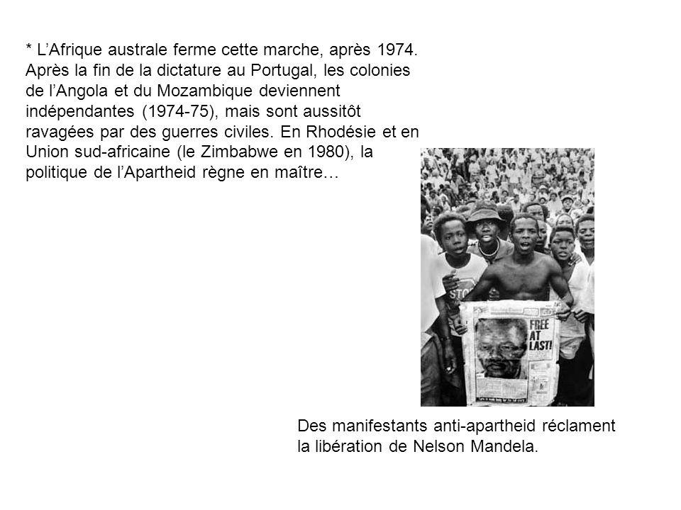 L'Afrique australe ferme cette marche, après 1974