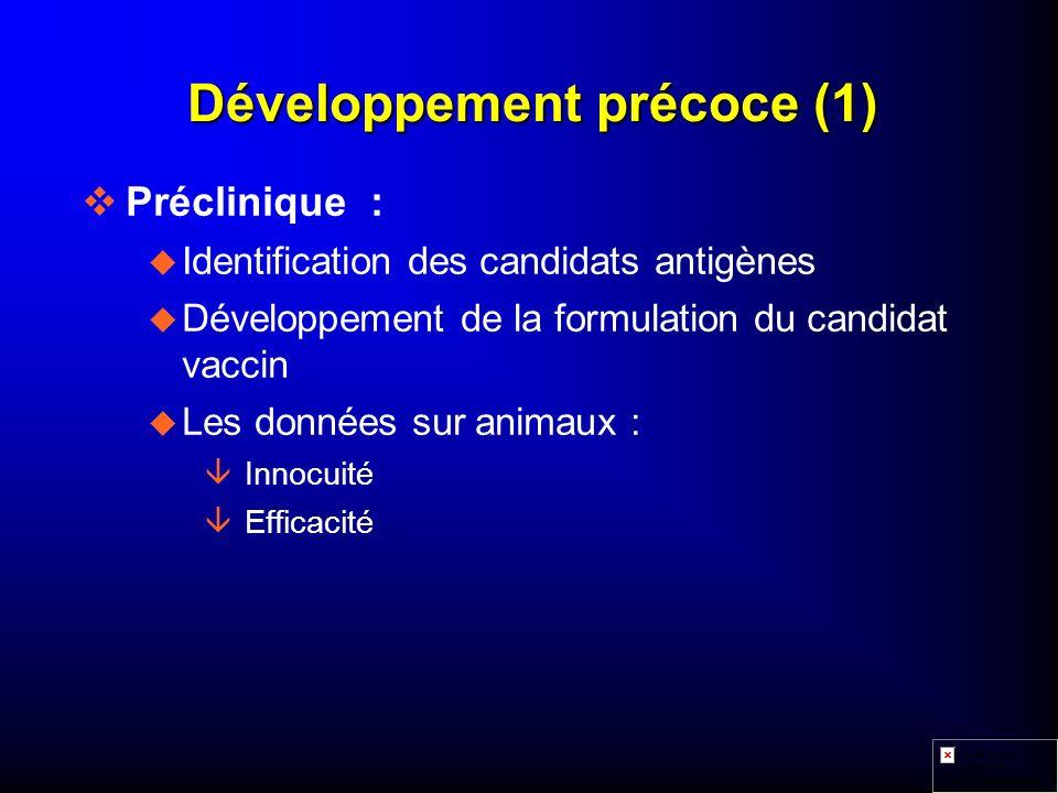 Développement précoce (1)