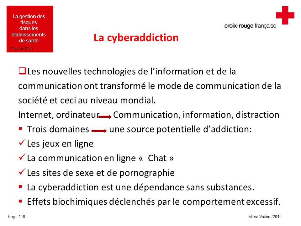 La cyberaddiction Les nouvelles technologies de l'information et de la