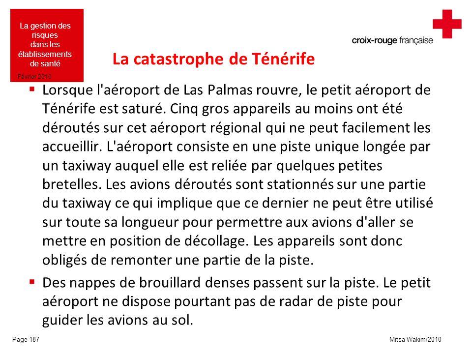 La catastrophe de Ténérife