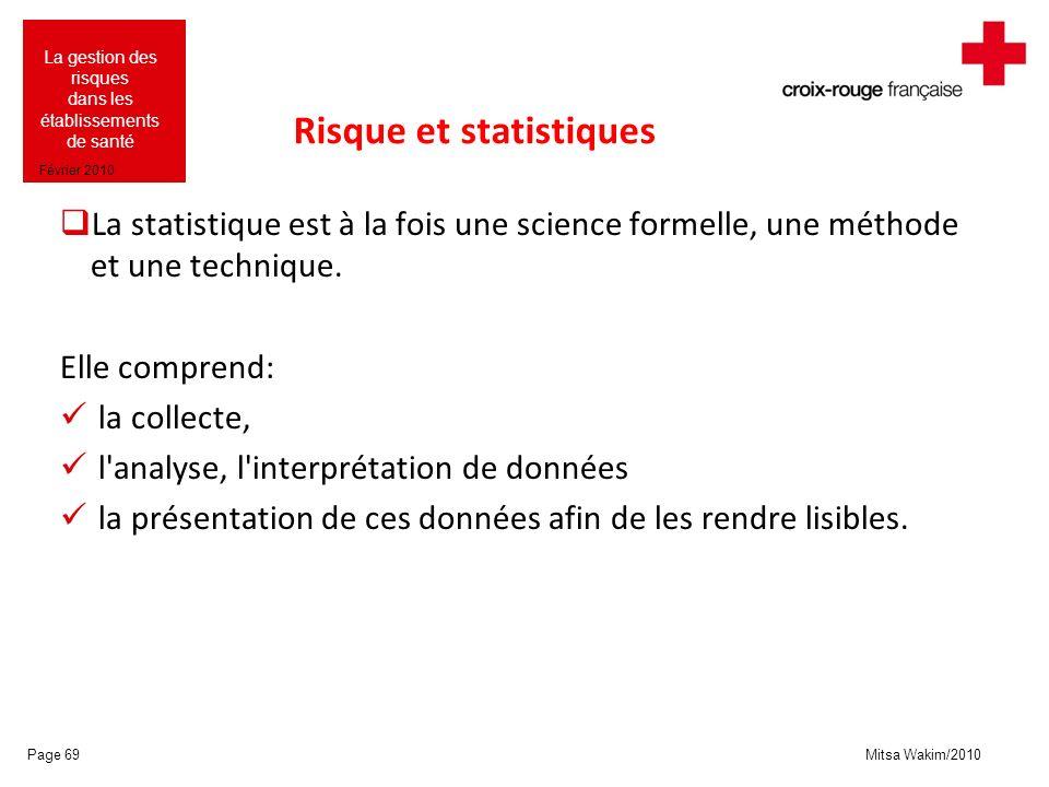 Risque et statistiques