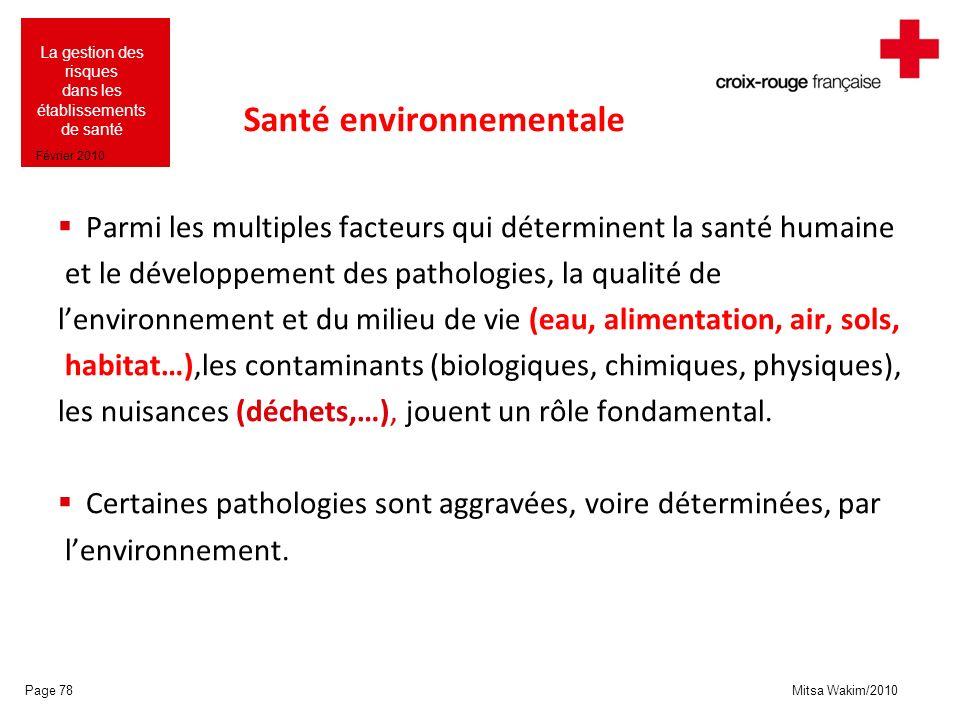 Santé environnementale