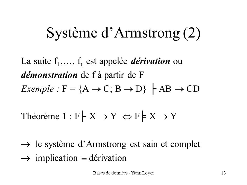 Système d'Armstrong (2)