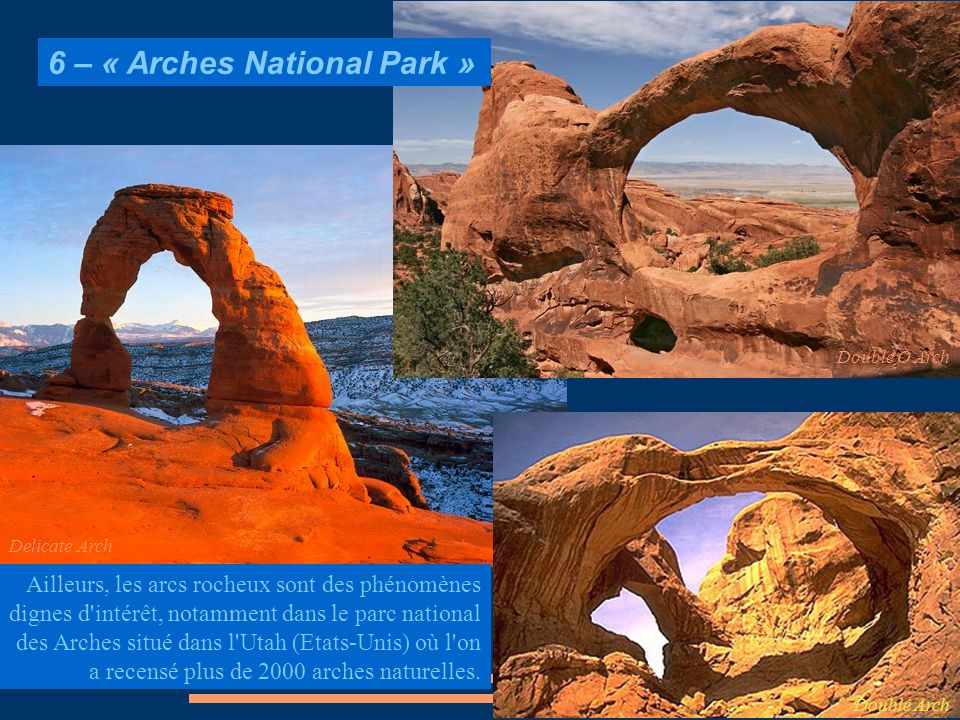 6 – « Arches National Park »
