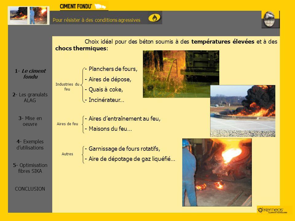 - Aires d'entraînement au feu, - Maisons du feu…