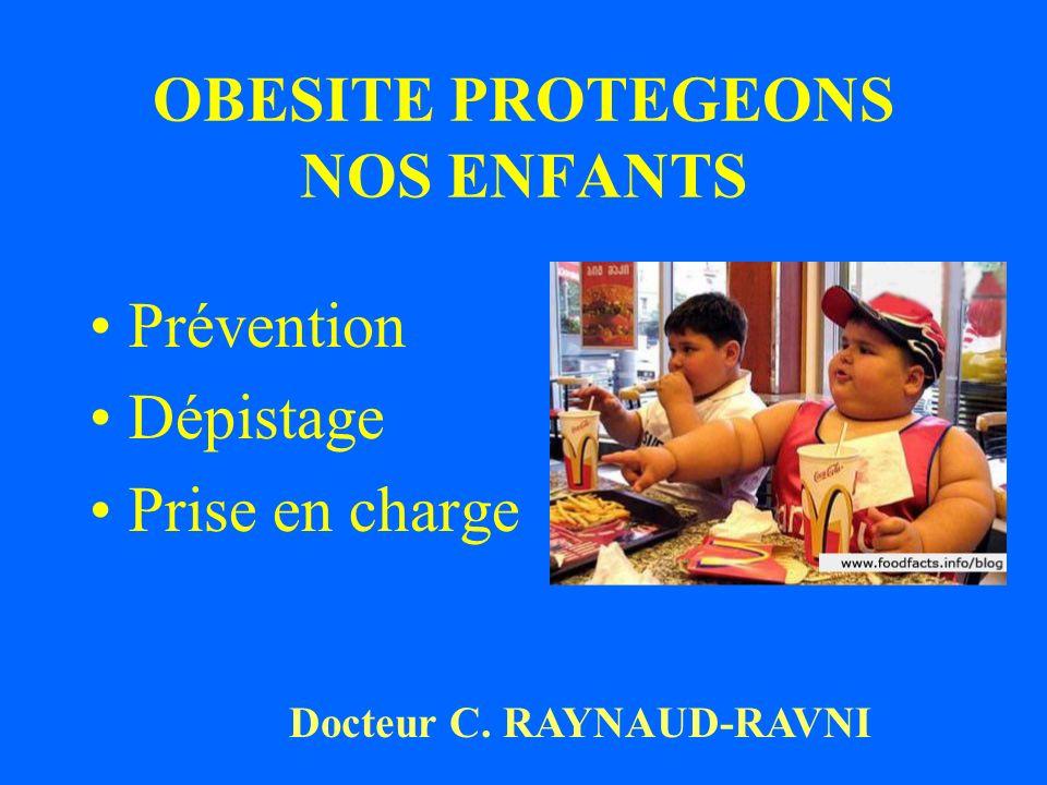 OBESITE PROTEGEONS NOS ENFANTS