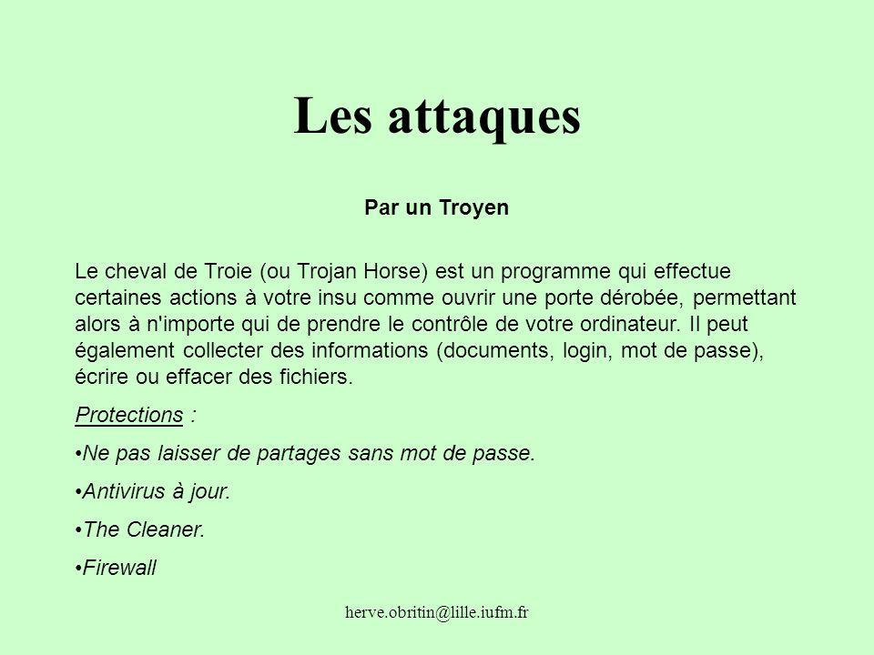 Les attaques Par un Troyen