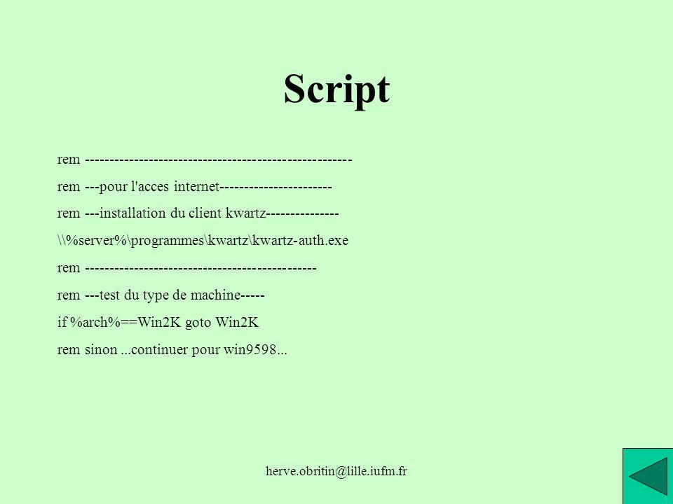 Script rem ------------------------------------------------------