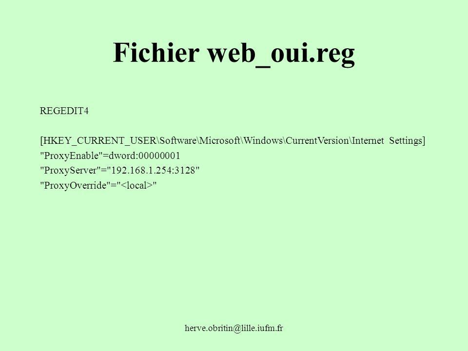 Fichier web_oui.reg REGEDIT4
