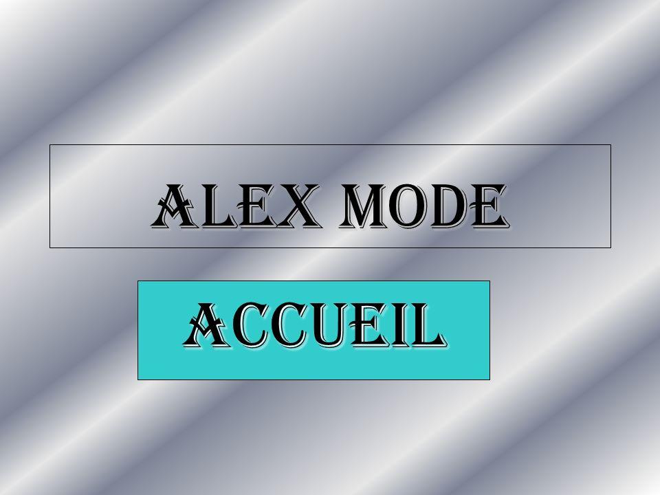 ALEX MODE ACCUEIL