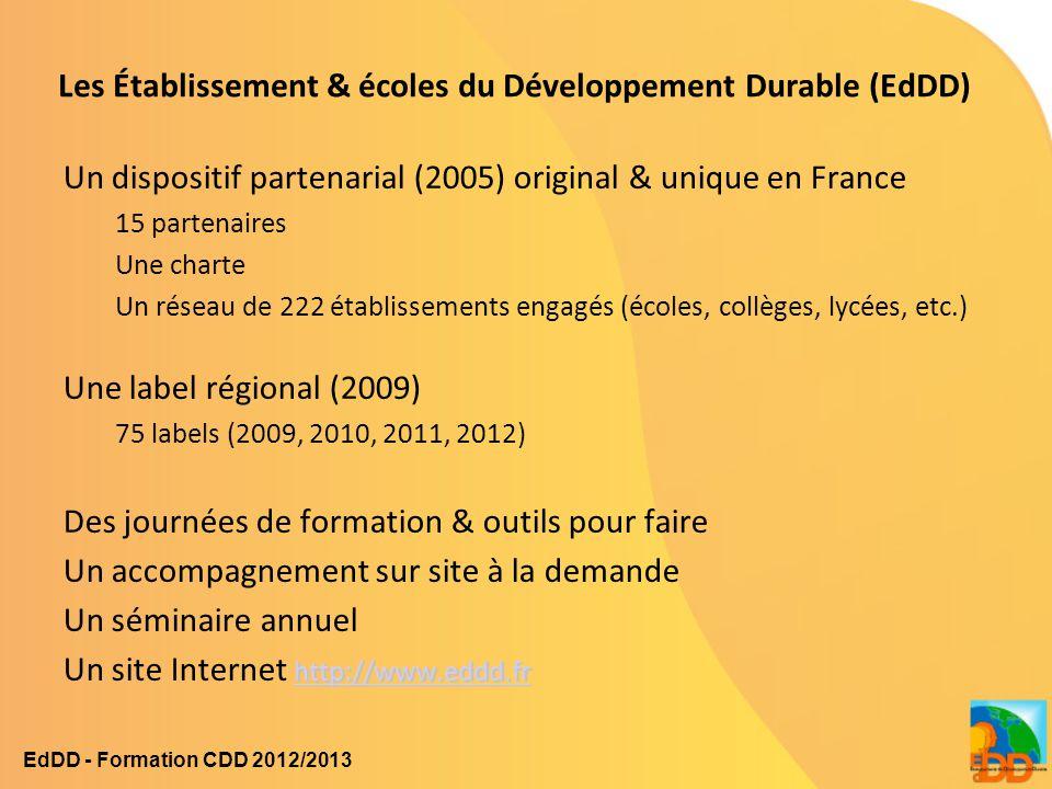 Les Établissement & écoles du Développement Durable (EdDD)