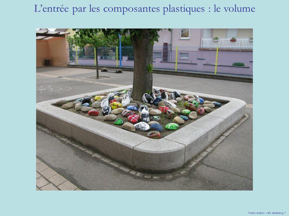 L'entrée par les composantes plastiques : le volume