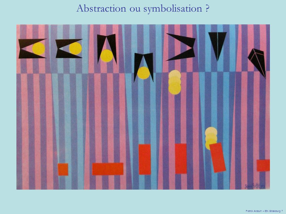 Abstraction ou symbolisation