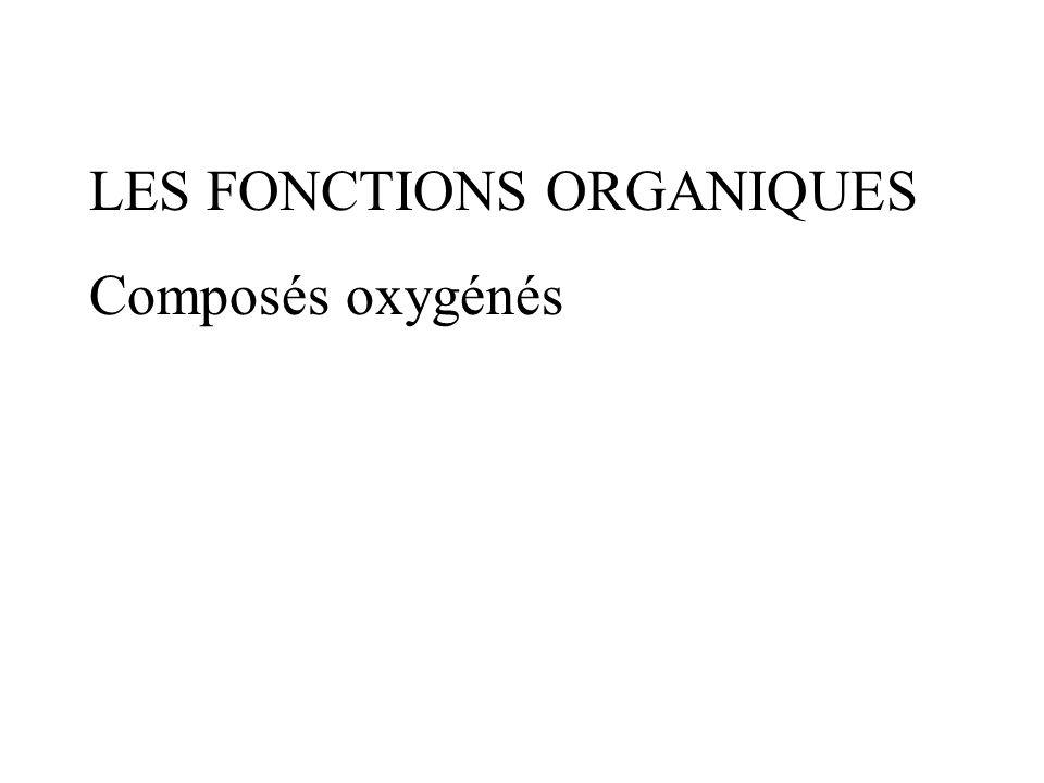 LES FONCTIONS ORGANIQUES