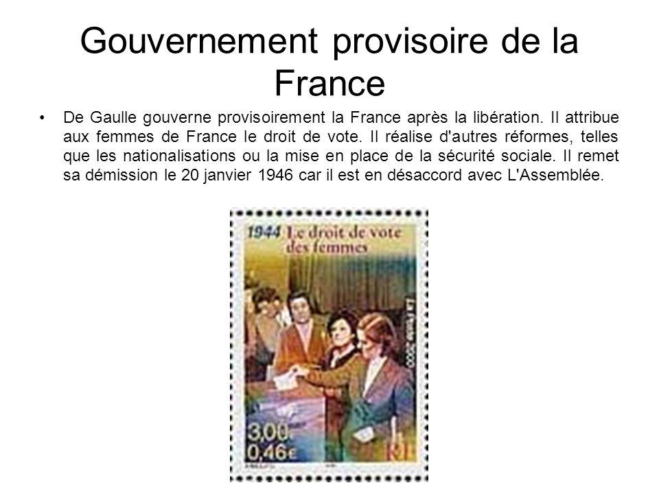 Gouvernement provisoire de la France