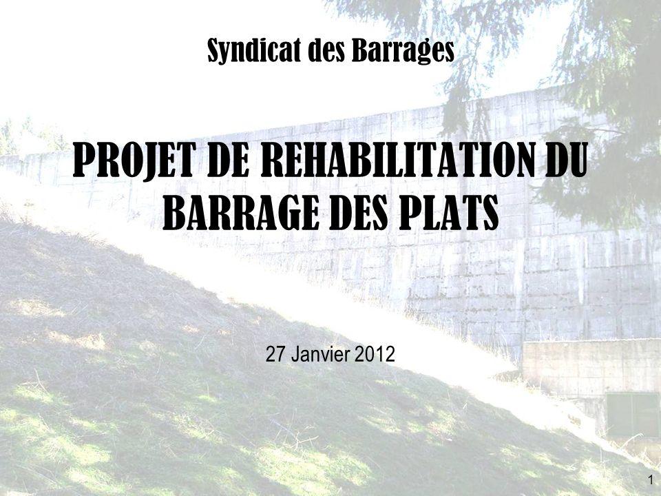 PROJET DE REHABILITATION DU BARRAGE DES PLATS