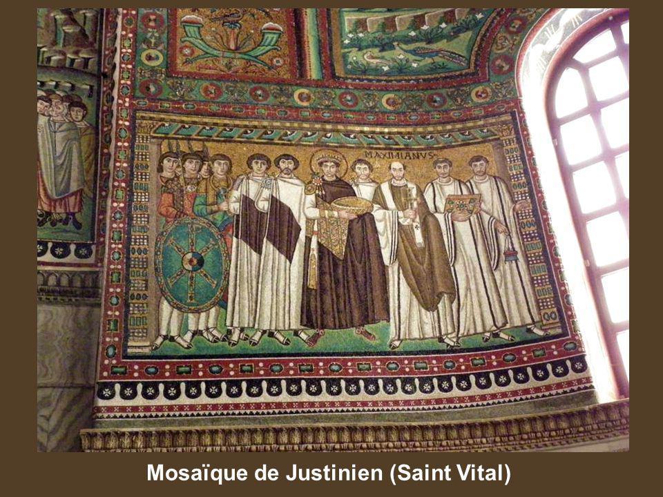 Mosaïque de Justinien (Saint Vital)