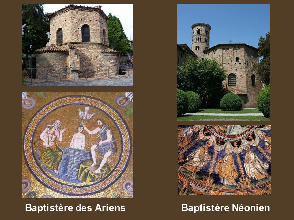 Baptistère des Ariens Baptistère Néonien