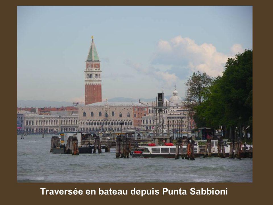 Traversée en bateau depuis Punta Sabbioni