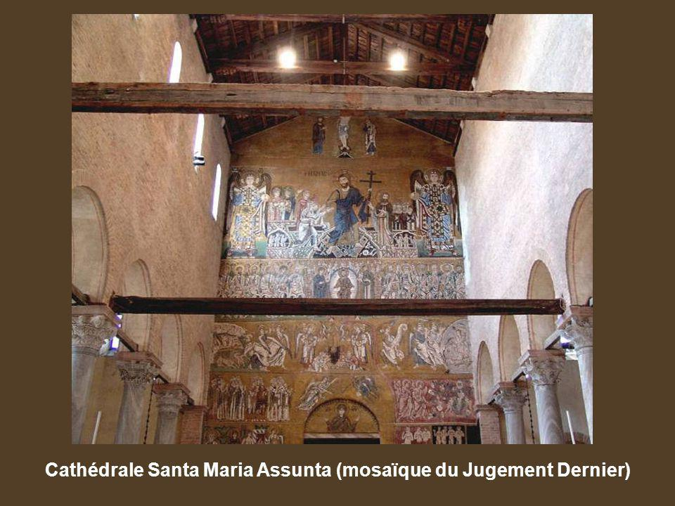 Cathédrale Santa Maria Assunta (mosaïque du Jugement Dernier)