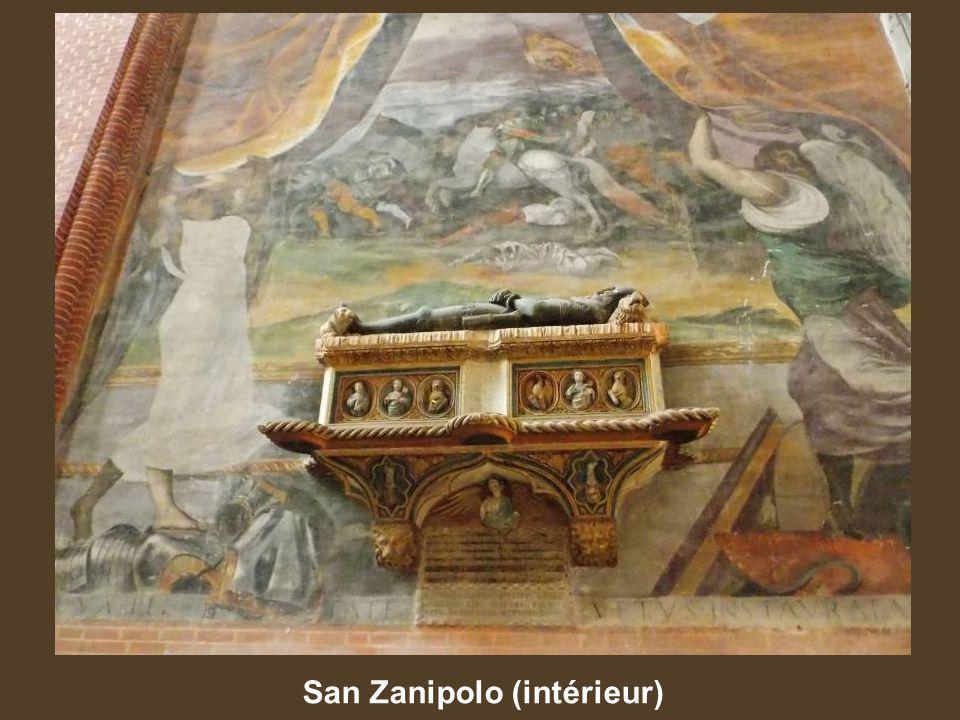 San Zanipolo (intérieur)