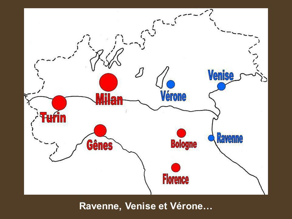 Ravenne, Venise et Vérone…