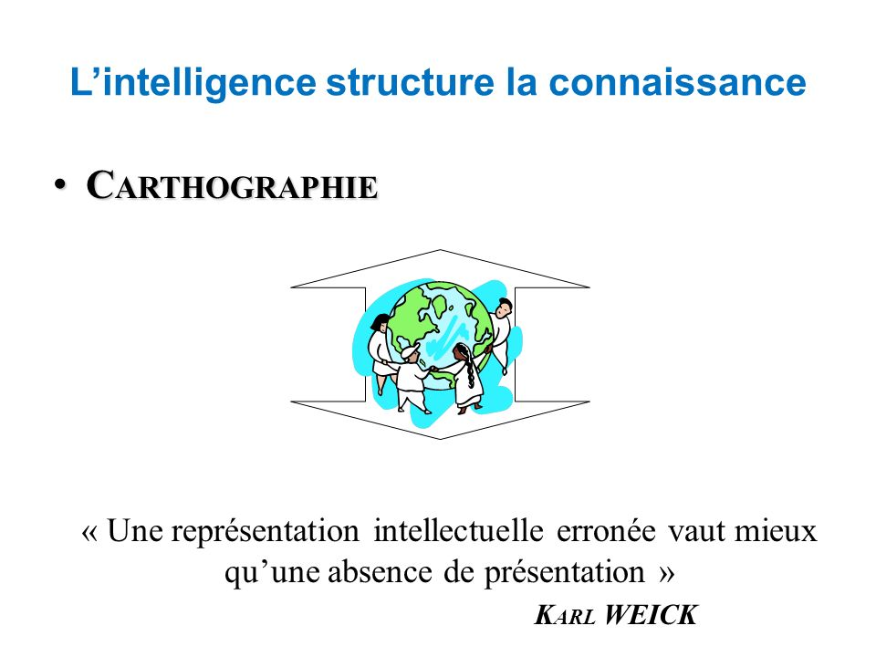 L'intelligence structure la connaissance