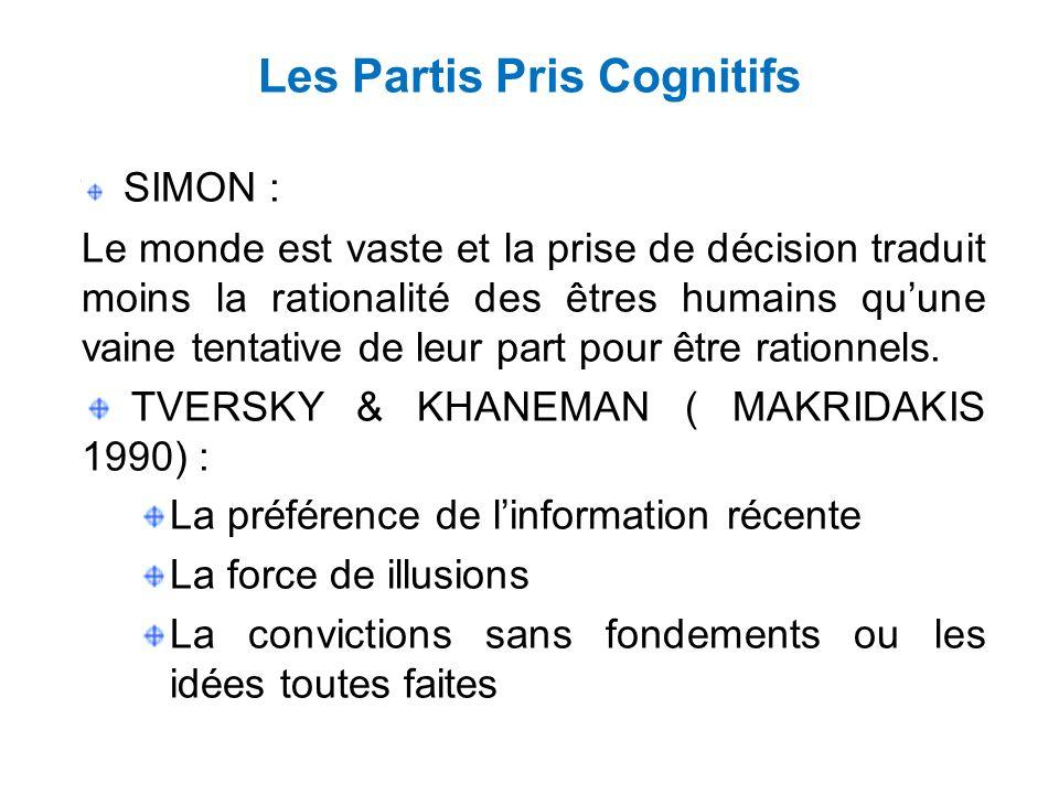 Les Partis Pris Cognitifs
