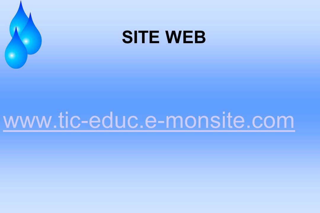 SITE WEB www.tic-educ.e-monsite.com