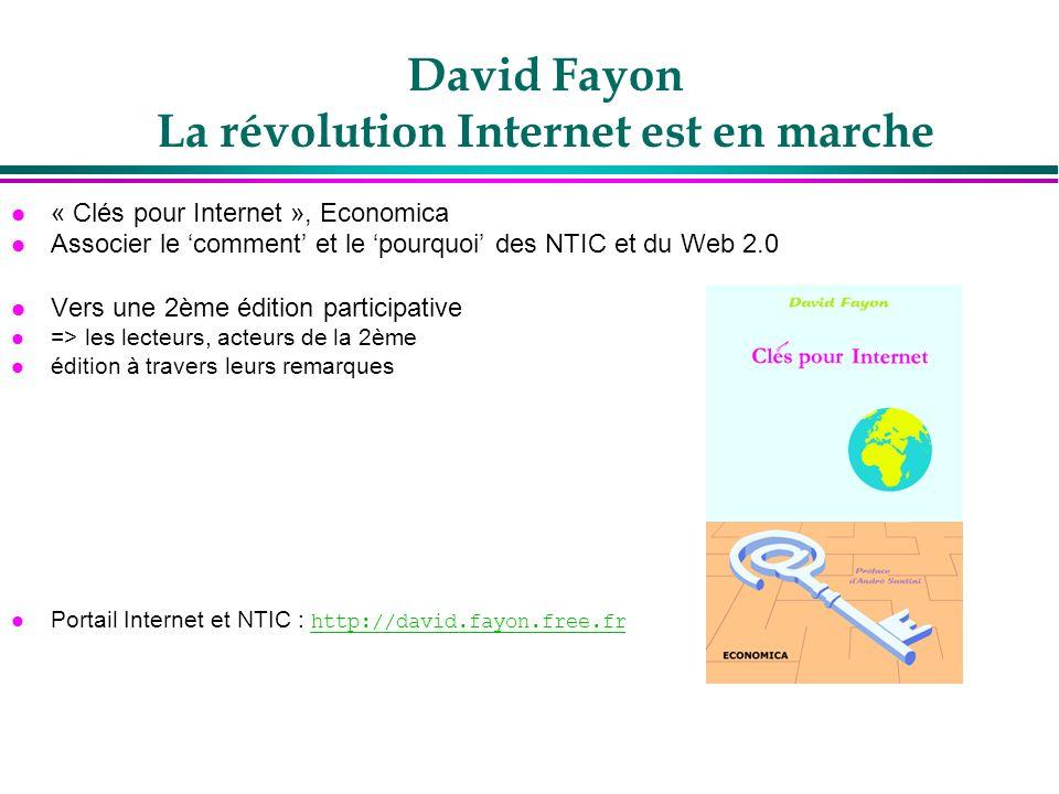 David Fayon La révolution Internet est en marche